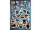 Gear No: Gstk236  Name: Sticker Sheet, Harry Potter, Sheet of 25