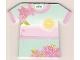 Gear No: clikits180  Name: Memo Pad Clikits - Flowers and Tropical Sunrise / Sunset T-Shirt