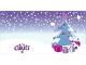 Gear No: clikits261pb02  Name: Christmas Card, Clikits with 3 Holes, Christmas Tree Pattern