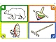 Gear No: create111  Name: Creationary Game Card 111 Polar Bear