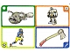 Gear No: create97  Name: Creationary Game Card 97 Piranha