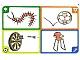 Gear No: create98  Name: Creationary Game Card 98 Centipede