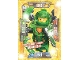 Gear No: nex1deLE1  Name: Nexo Knights Trading Card Game (German) Series 1 - LE1 Ultimativer Aaron Card