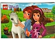 Gear No: pc5002113a  Name: Postcard - Friends Mia and Olivia with Horse