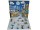 Gear No: pucs01pl  Name: Pop Up Cardboard Scene, LEGO City Advent book 2018 (Polish Edition)