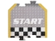 Gear No: racegametracks3  Name: Racers Game Track Piece Special Start