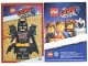 Gear No: tc19tlm01  Name: The LEGO Movie 2, Card #01 - Batman