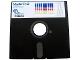 Gear No: tclogofloppy1  Name: Instruction Floppy Disk 5.25in for 951-2 LEGO TC logo Master Disk, Apple IIe/IIgs