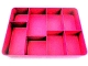 Gear No: tray04  Name: Storage/Sorting Tray - 8 Compartment