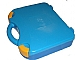 Gear No: 759528c02  Name: Storage Case with Rounded Corners and Dark Azure Lid, Yellow Latches