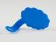 Gear No: bubble1  Name: Minifigure Speech Bubble, Cloud Edge, Left