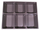 Gear No: 4186302  Name: Storage/Sorting Tray - 6 Compartment