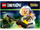 Lot ID: 92111002  Instruction No: 71230  Name: Fun Pack - Back to the Future (Doc Brown and Traveling Time Train)