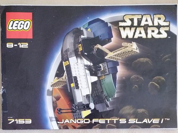 Jango Fett Lego Set Set 7153-1 Jango Fett's