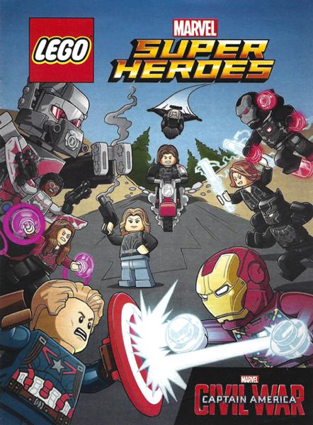 BrickLink - Book 6155054 : Lego Super Heroes Comic Book, Marvel ...