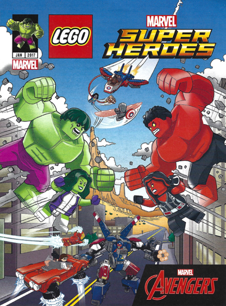 BrickLink - Book 6188123 : Lego Super Heroes Comic Book, Marvel ...