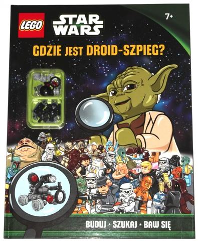 NEW LEGO Figure Spy Droid Star Wars Book Gdzie jest szpieg Droid