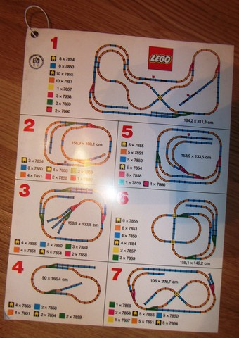 Bricklink Book B82train Lego Information Card Ideas For Track Layout For Retail 93 147 Idea Book Train Bricklink Reference Catalog
