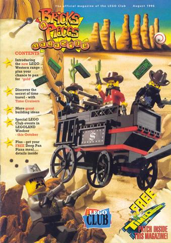 BrickLink - Book bp96aug : Lego Bricks n' Pieces 1996 August ...