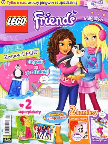 Bricklink Book Mag2015frnd01pl Lego Lego Magazine Friends 2015