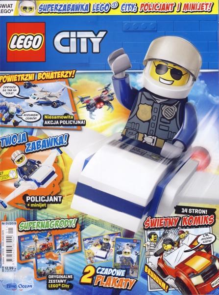 BrickLink - Book mag2019cty01pl : Lego Lego Magazine City