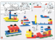 Book No: 1050b03  Name: Set 1050 Activity Card 3 - Ships/Movement (120533)