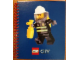 Book No: 5000700  Name: Coloring Book, City Fire