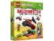 Book No: 5002772  Name: Brickmaster Ninjago (Hardcover) - Fight the Power of the Snakes