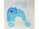 Book No: 6344099  Name: Set 10955 - Activity Card 2 - Elephant (6344099)