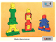 Book No: 9512b04  Name: Set 9512 Activity Card 4 - Towers UK/AUS Version (4101811)