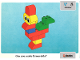 Book No: 9512b08  Name: Set 9512 Activity Card 8 - Animals UK/AUS Version (4101811)