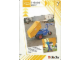 Book No: 9608b7  Name: Set 9608 Activity Card Orange 7 - 3-wheeled mover