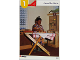 Book No: 9661b06  Name: Set 9661 Activity Card Orange 1 - Around the Home (4100117 - UK/AUS/NZ/OS)