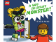 Book No: 9781338360820  Name: A Not-So-Scary Monster! (Hardcover)