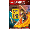 Book No: 9781405283236  Name: Ninjago Masters of Spinjitzu - The Djinn Menace - Activity Book