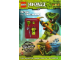 Book No: 9782351006849  Name: Ninjago - Ninja vs. Venomari - Activity Book (French version)