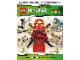 Book No: 9783831020621  Name: Das große Stickerbuch - Ninjago Masters of Spinjitzu