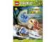 Book No: 9783863185121  Name: Ninjago - Auf die Sticker, fertig, los! Der Aufstieg der Schlangen