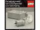 Book No: 98965nl  Name: De batterij-motor van LEGO(R) speciaal voor aandrijving. (98965-NL)