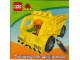Book No: KL-102  Name: Coloring Book, Duplo Colouring and Activity Book Small - Construction