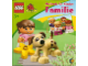 Book No: KL-103de  Name: Coloring Book, Duplo Colouring and Activity Book Small - Familie