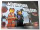 Book No: b14tlm10  Name: The LEGO Movie - Adventure Builder!