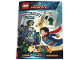 Book No: b19sh01pl  Name: DC Comics Super Heroes - Zagadki Leksa Luthora (Polish Edition)
