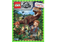 Book No: b20stk01de  Name: Sticker Album, Jurassic World (German)