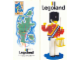 Book No: b89lldkpg  Name: Legoland Denmark Park Guide 1989 with Map