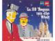 Book No: b89ws  Name: In 80 Tagen um die Welt: Lego World Show Souvenirbuch
