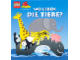 Book No: b98wldt  Name: WO LEBEN DIE TIERE? (Where do the animals live?) illustrated by Michael Smollin