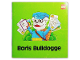 Book No: fabsm13de  Name: Small Book - Boris Bulldogge (German)