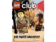Book No: mag2015be5nl  Name: Lego Club Magazine (Belgium) 2015 November - December