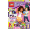 Book No: mag2015frnd02nl  Name: Lego Magazine Friends 2015 Issue 2 (Dutch)